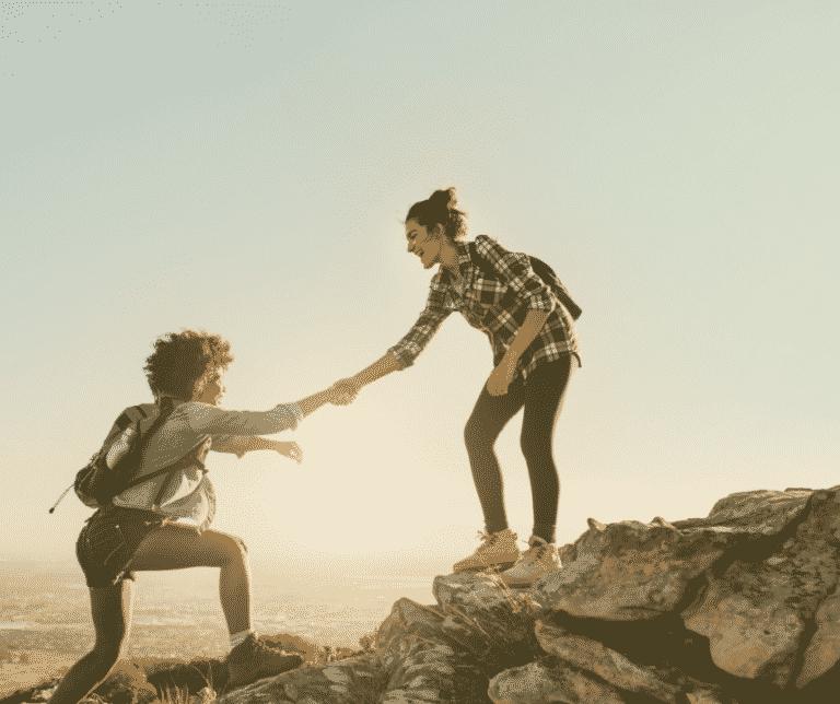 Wenn wir uns miteinander verbinden, helfen wir einander und finden zueinander zurück
